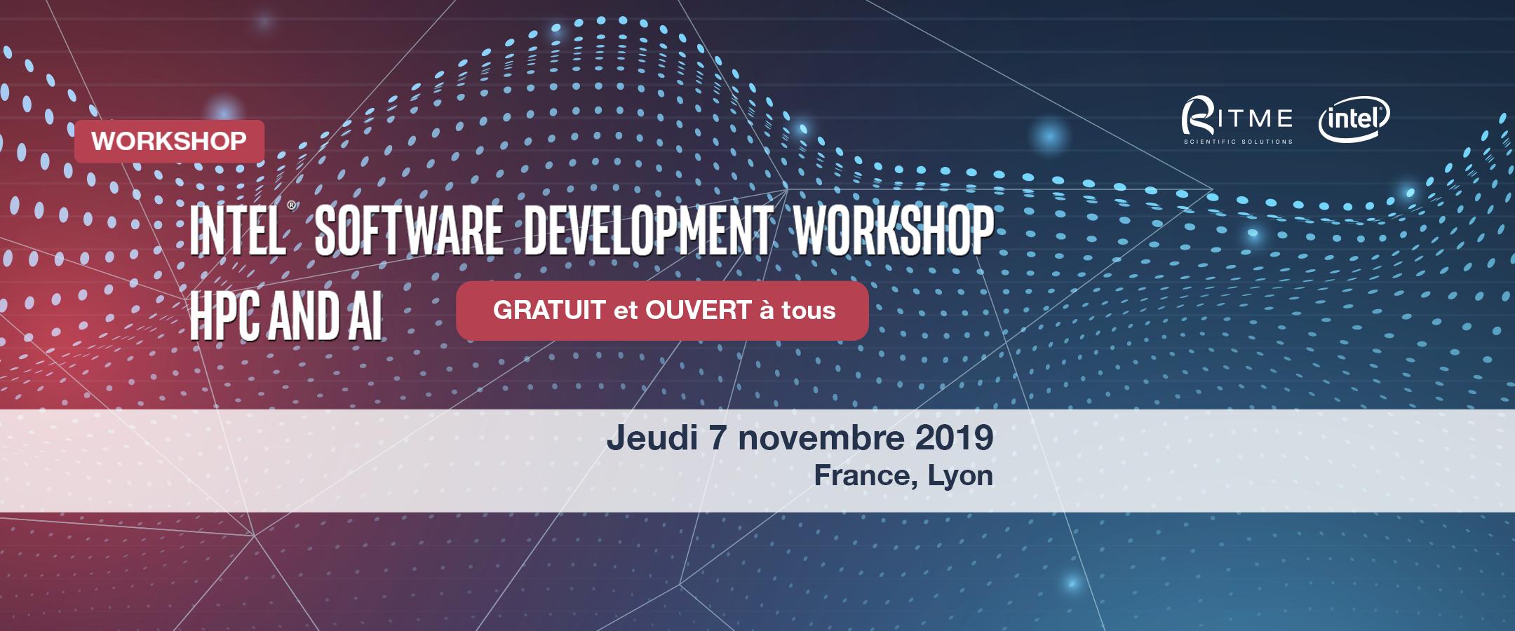 Intel Software Development Workshop HPC and AI – Focus Life Sciences